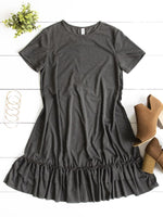 Jesse Dress - Charocal