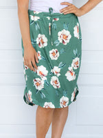 Floral Weekend Skirt - Green