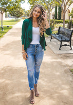 The Rae Blazer - Green