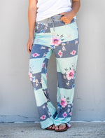 Pattern Lounger Pants - Tickled Teal LLC