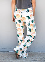 Pineapple Wide Leg Lounger - Tickled Teal LLC
