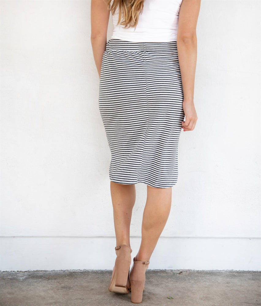 Mabel Weekend Skirt - Charcoal