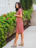 Berkeley Dress - Rust Floral