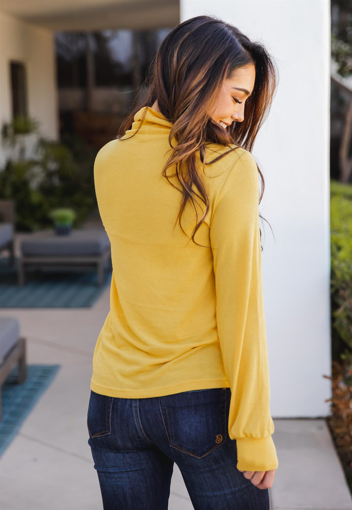 The Asher Top - Yellow