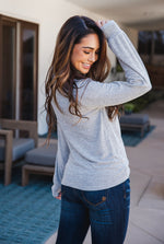 The Asher Top - Grey