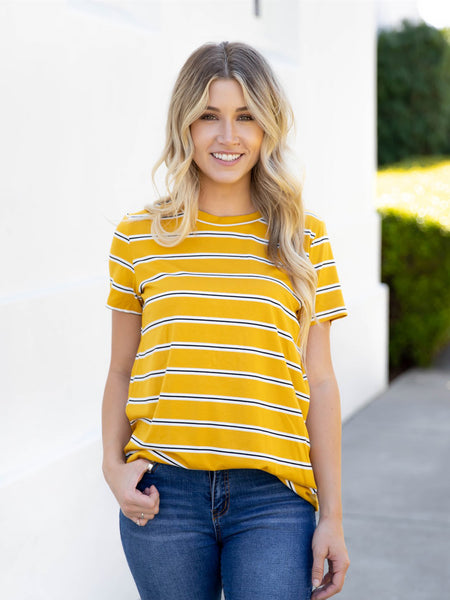 The Ariana Top | S-3X - Yellow