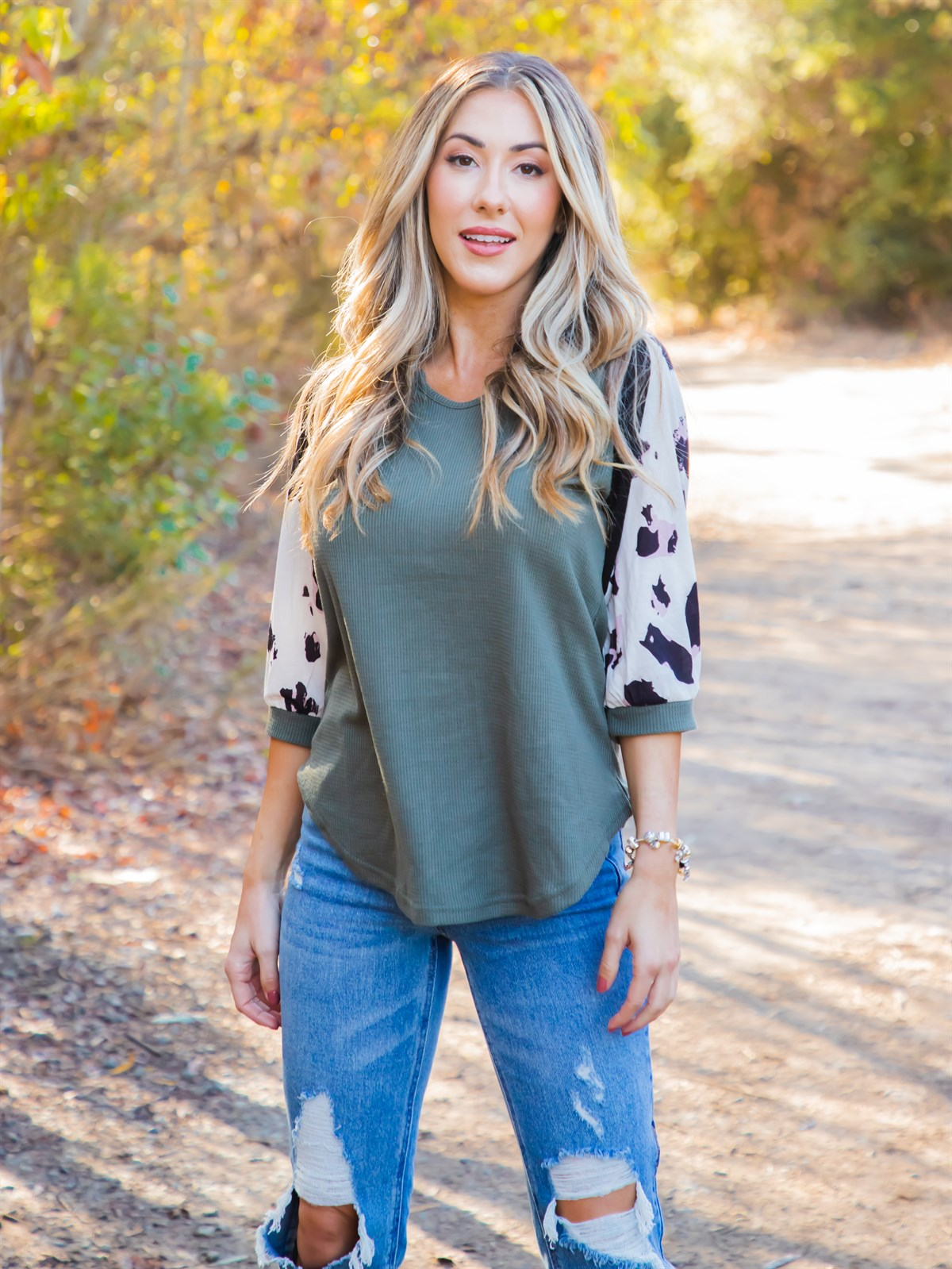 Sola Top - Olive