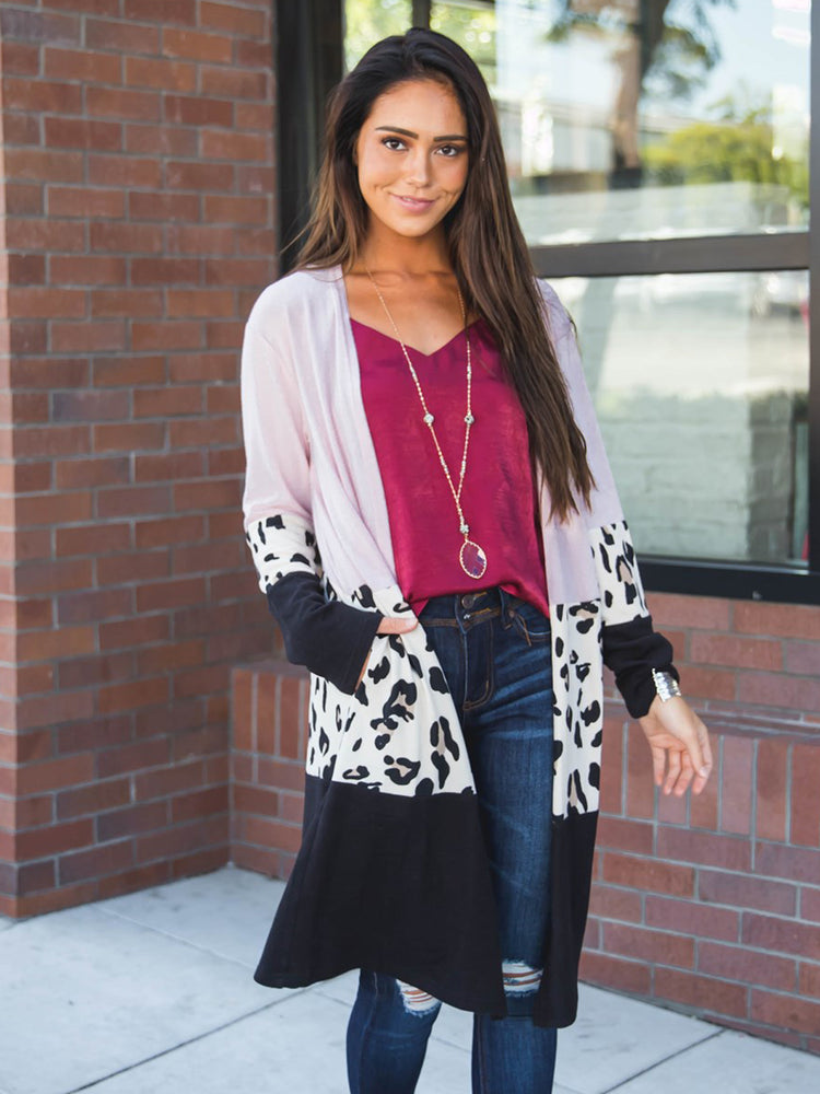 The Briana Cardigan - Pink