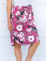 Floral Weekend Skirt - Pink