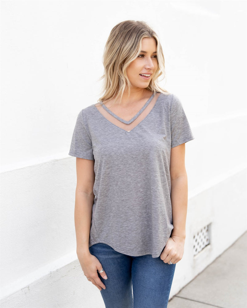 The Bliss Top - Gray