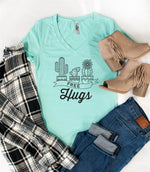 Free Hugs Tshirt - Tickled Teal LLC