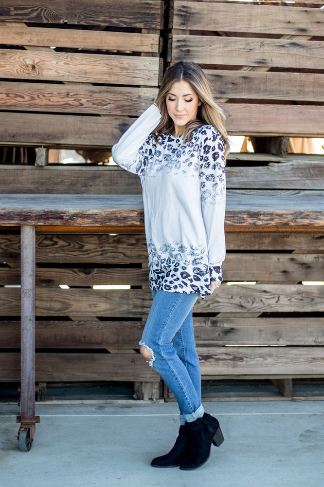 The Marley Tunic - Gray