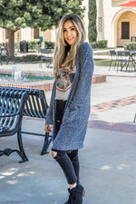 The Kelsea Cardigan - Navy