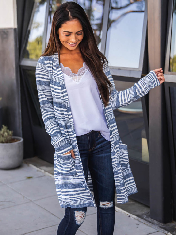 Zoey Cardigan - Blue