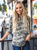The Morgan Camo Top