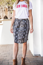 Python Weekend Skirt - Black
