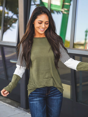 The Christy Top - Green