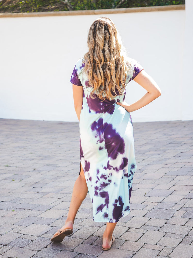 Relaxed Maxi Dress - Tie Dye