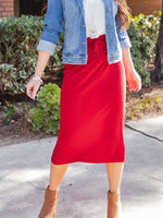 The Sonny Skirt - Red