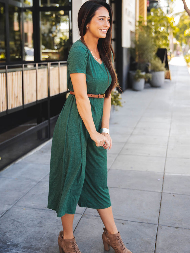 The Daisy Jumpsuit - Green