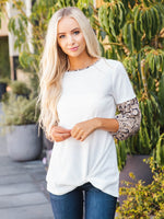 Autumn Top - White