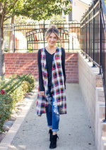 The Briley Vest - Red