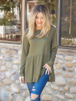 The Evelyn Top - Olive
