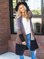 The Briana Cardigan - Charcoal