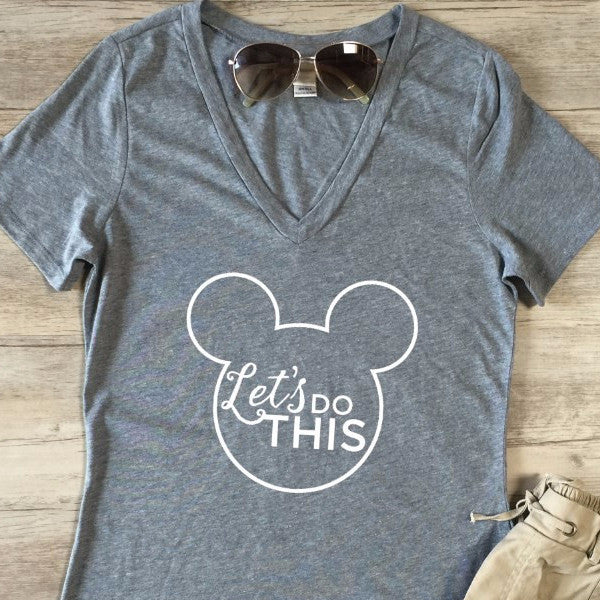 Let's do this Tshirt - Tickled Teal LLC