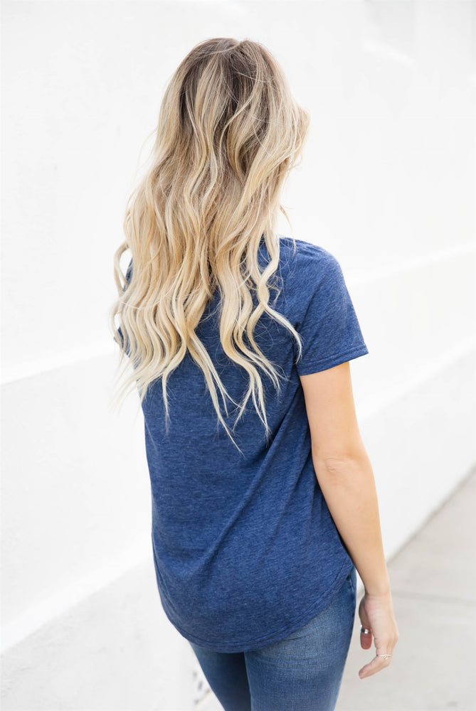 The Bliss Top - Navy