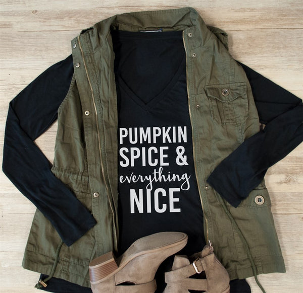Pumpkin Spice & Everything Nice Long Sleeve