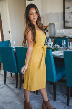 Lennon Dress - Yellow
