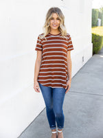 The Ariana Top - Brown