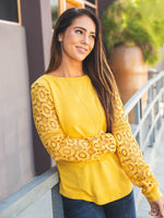 The Skylar Top - Yellow