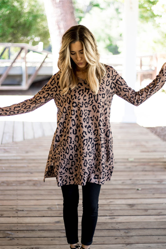The Rory Tunic - Brown