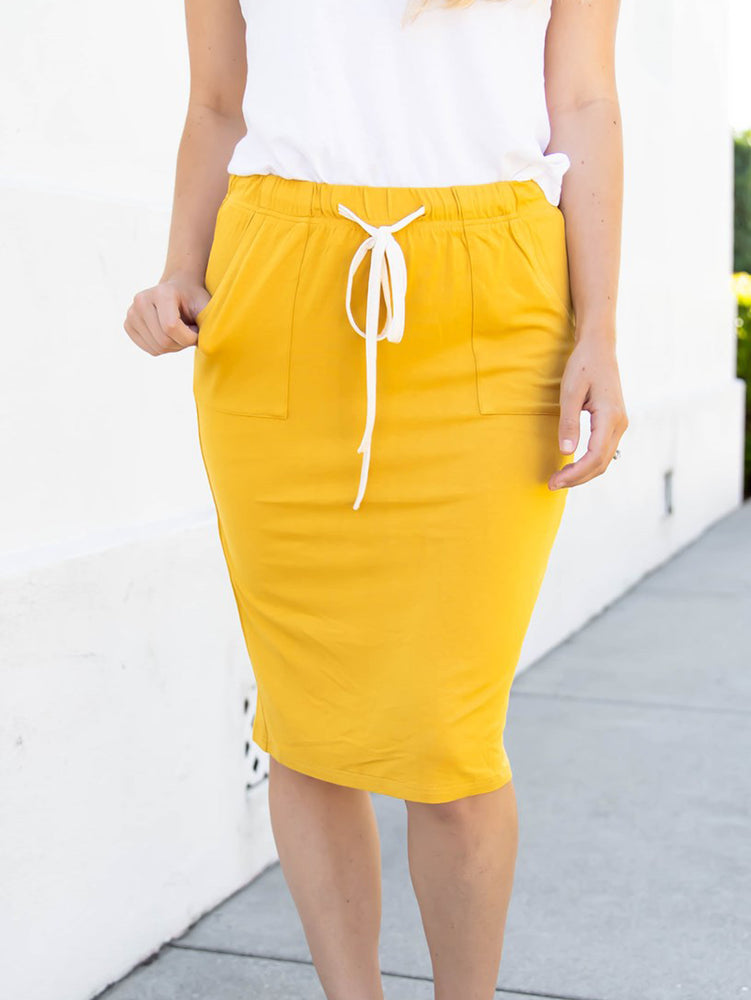 The Alexis Skirt - Yellow