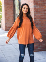The Casey Top - Orange
