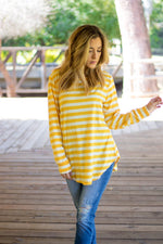 The Gradie Top - Yellow