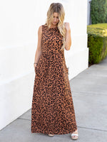 The Maisey Tank Dress - Brown