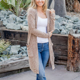The Kelsea Cardigan - Tan