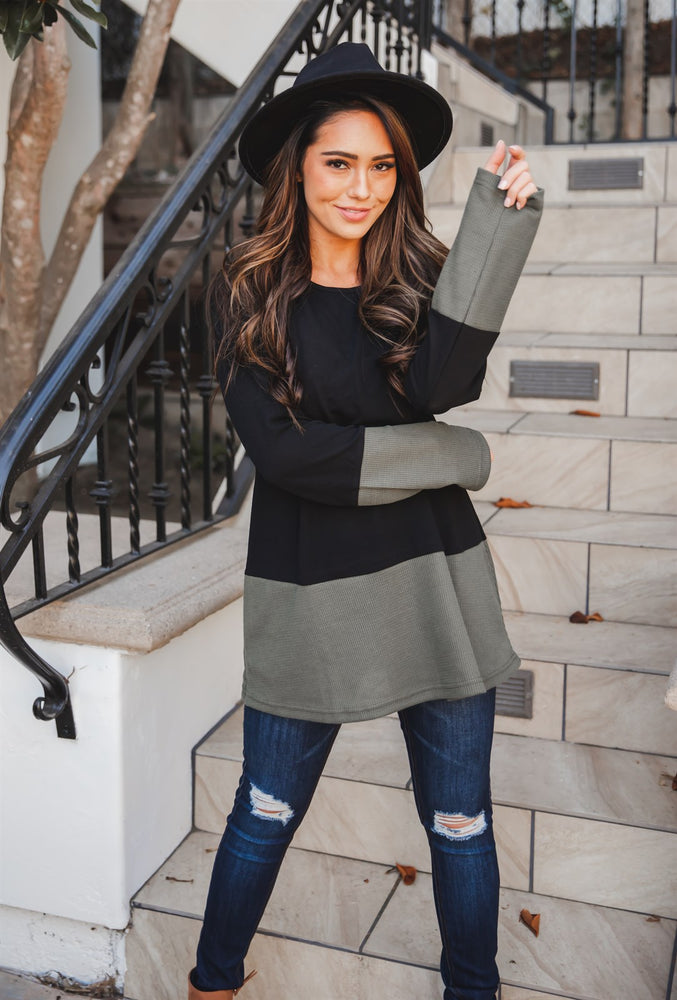The Jett Tunic - Olive