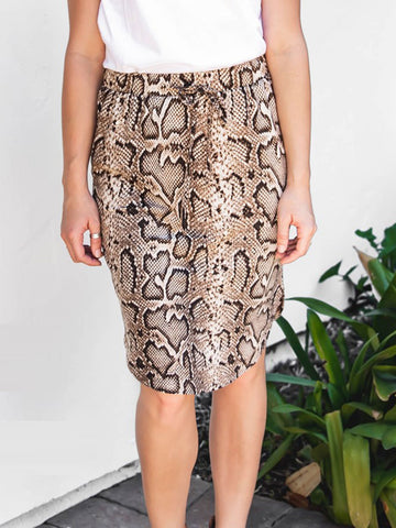 Python Weekend Skirt - Tan