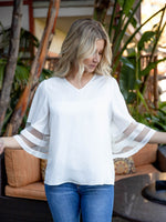 The Gia Top - White