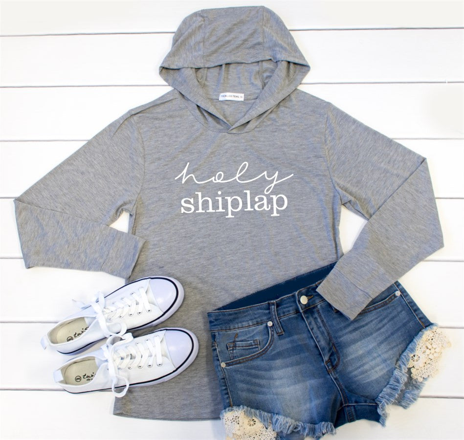 Holy Shiplap Graphic Hoodie - Tickled Teal LLC