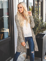 The Joelle Cardigan - Brown