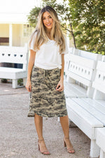 Camo Weekend Skirt | S-3X - Tickled Teal LLC