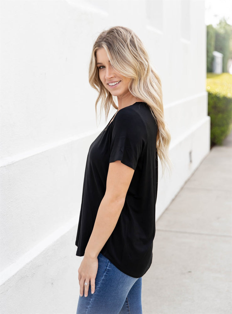 The Bliss Top - Black