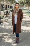 The Tessa Cardigan - Brown - Tickled Teal LLC