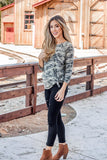 The Morgan Camo Tunic | S-3X - Tickled Teal LLC