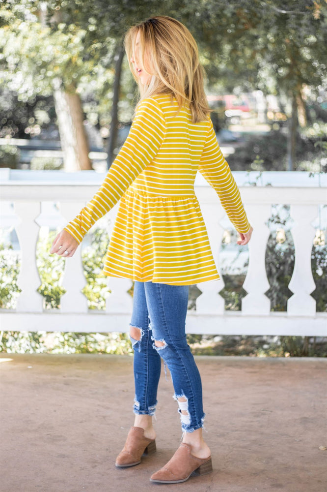 The Ember Top - Yellow